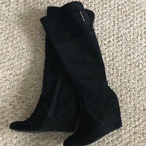 Nine West Suede Black Boots